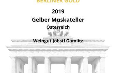 Gold Medaille für den Gelben Muskateller
